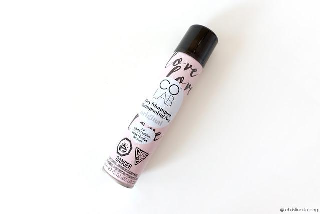 Farleyco Beauty Spring Box 2019 - COLAB Dry Shampoo Review