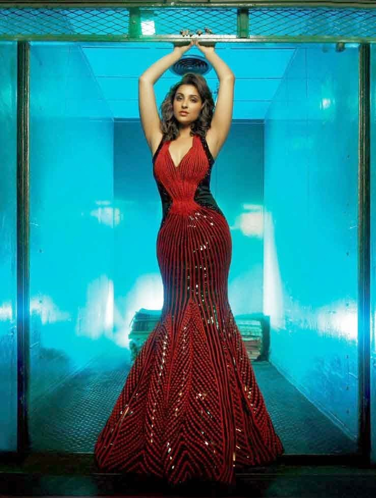 Parineeti Chopra in cabaret dancer dress in Femina India Magazine