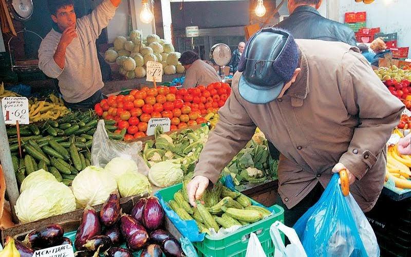 Μεταφορά λαϊκών αγορών λόγω αργίας Δεκαπενταύγουστου στη Λάρισα