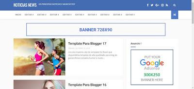 Blogger Templates Noticias News