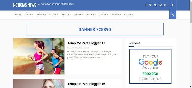 Blogger Templates Noticias News