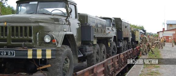 На Волинь прибув перший ешелон з технікою та майном 204-ї бригади тактичної авіації