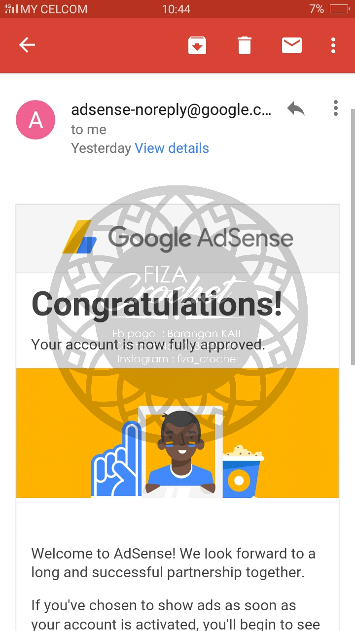 Google Adsense Approved!