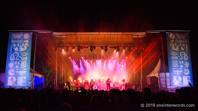 The Sheepdogs at Riverfest Elora on Friday, August 16, 2019 Photo by John Ordean at One In Ten Words oneintenwords.com toronto indie alternative live music blog concert photography pictures photos nikon d750 camera yyz photographer summer music festival guelph elora ontario