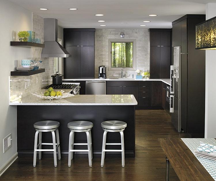 5 Modern Kitchens with Hardwood Floors - Dream House