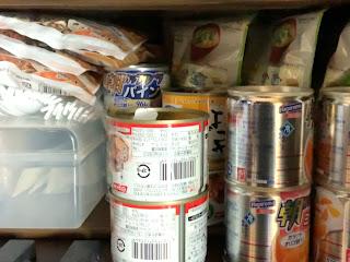 さんがつ日記 コロナウイルス対策「我が家の備蓄した食料品」