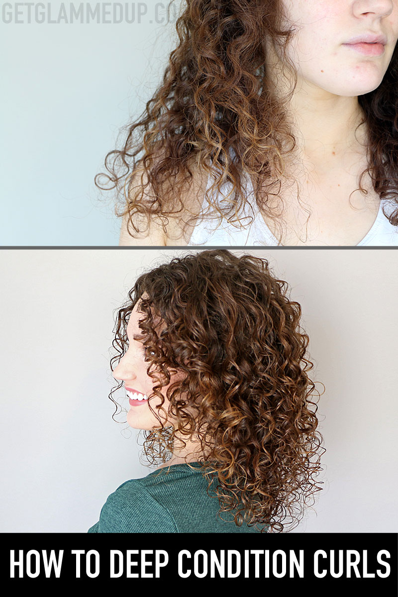 How to Deep Condition Curly Hair
