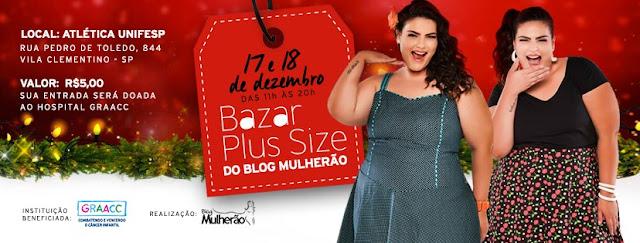 Bazar de Natal do Blog Mulherão   tem renda revertida para o GRAAC