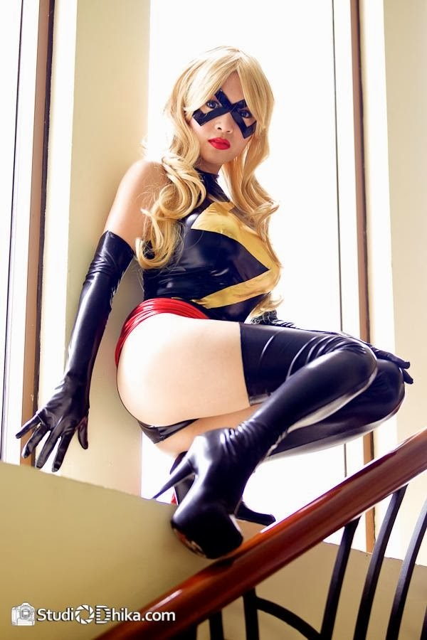 Cosplay: Ms. Marvel (Comics Marvel)