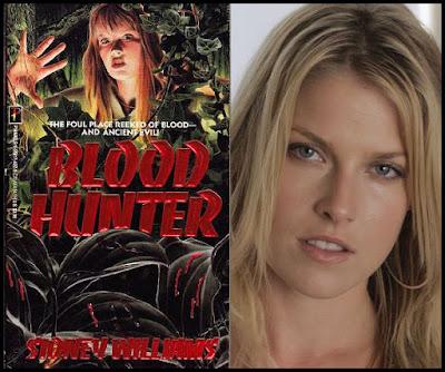 Blood Hunter and Ali Larter - cover model