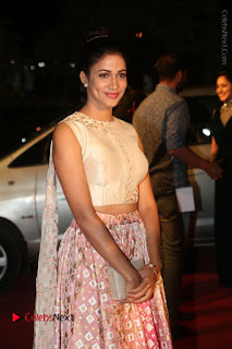 Actress Lavanya Tripati Stills in Beautiful Dress at Gemini TV Puraskaralu 2016 Event  0040.JPG