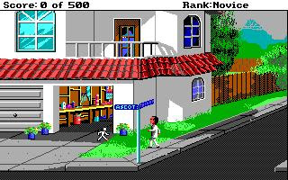 Videojuego Leisure Suit Larry 2 Point and Click