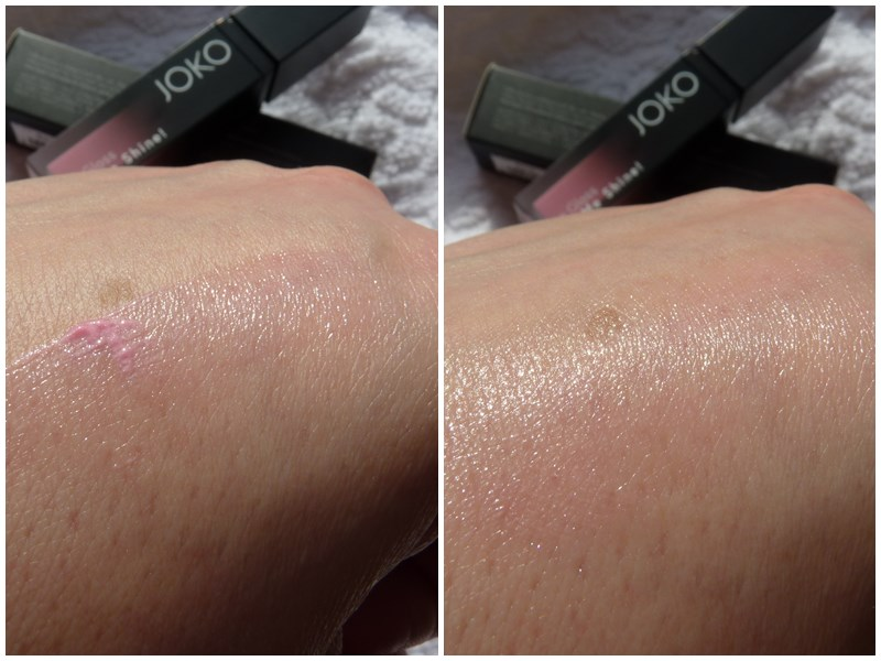 JOKO Lipgloss Let me shine swatch swatches