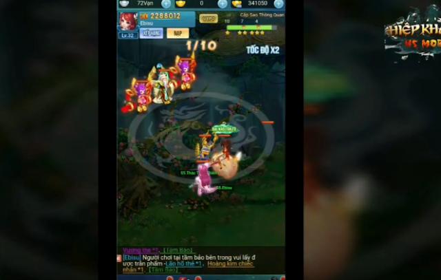Tải game Hiệp Khách H5 Việt hóa Free VIP7 - Full CODE & Train Rớt KNB - Tải game Trung Quốc hay