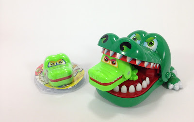 Croco doc dentist toy - Big mom and mini baby croco version