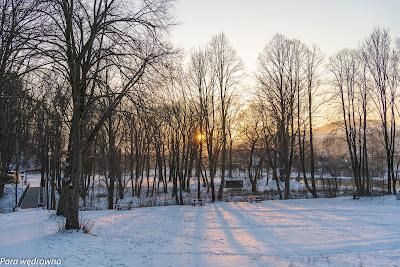Zachód słońca w Czerwonym Klasztorze