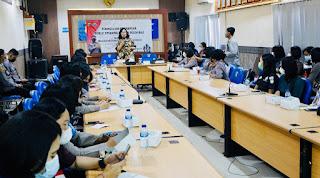 Santy Sastra Public Speaking, Ditlantas Polda Bali