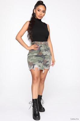 Faldas Modernas de Moda