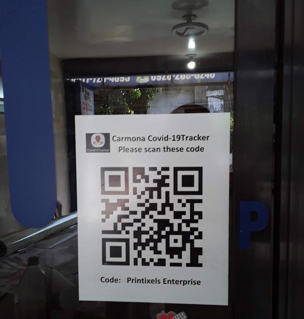 COVID-19 Tracker QR Code