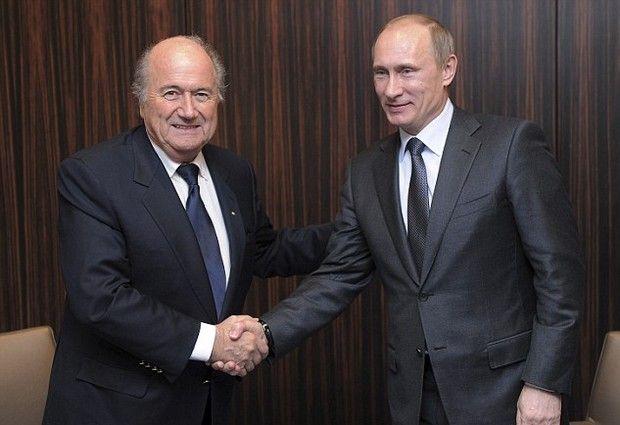 Ο Πούτιν ζήτησε την βοήθεια του Μπλάτερ για το Μουντιάλ
