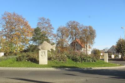 Karpfenkreisverkehr in Höchstadt/Aisch