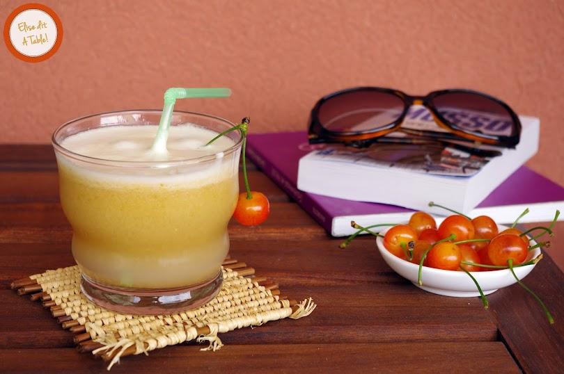 recette boisson melon cerise