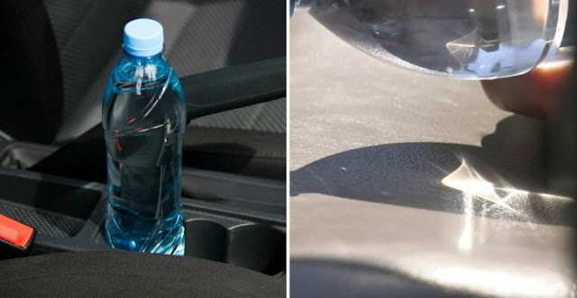 Firefighters Say No Longer Need To Leave A Bottle Of Water In The Car
