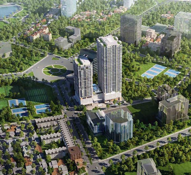Dự án chung cư Lilaha Complex