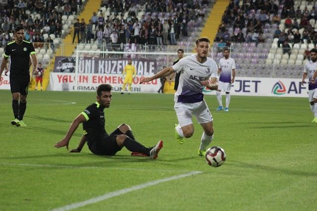 Şanlıurfaspor, Afyonspor'a farklı yenildi
