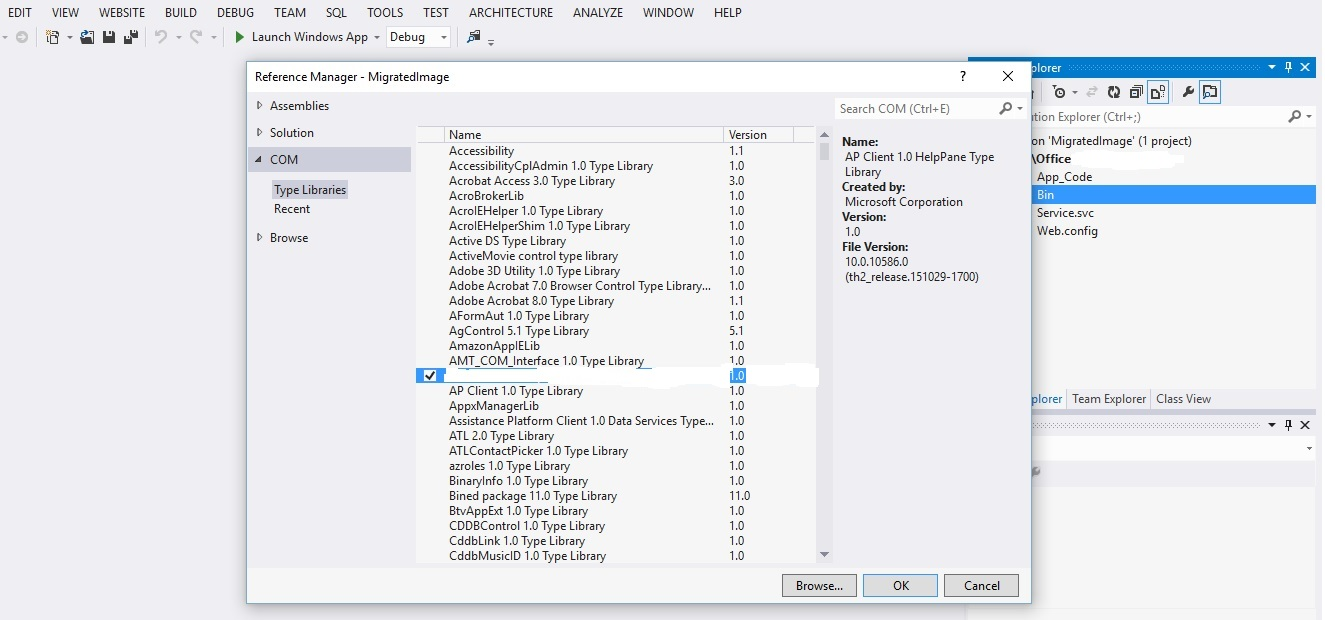 VB6 dll in ASP NET and hosting on IIs