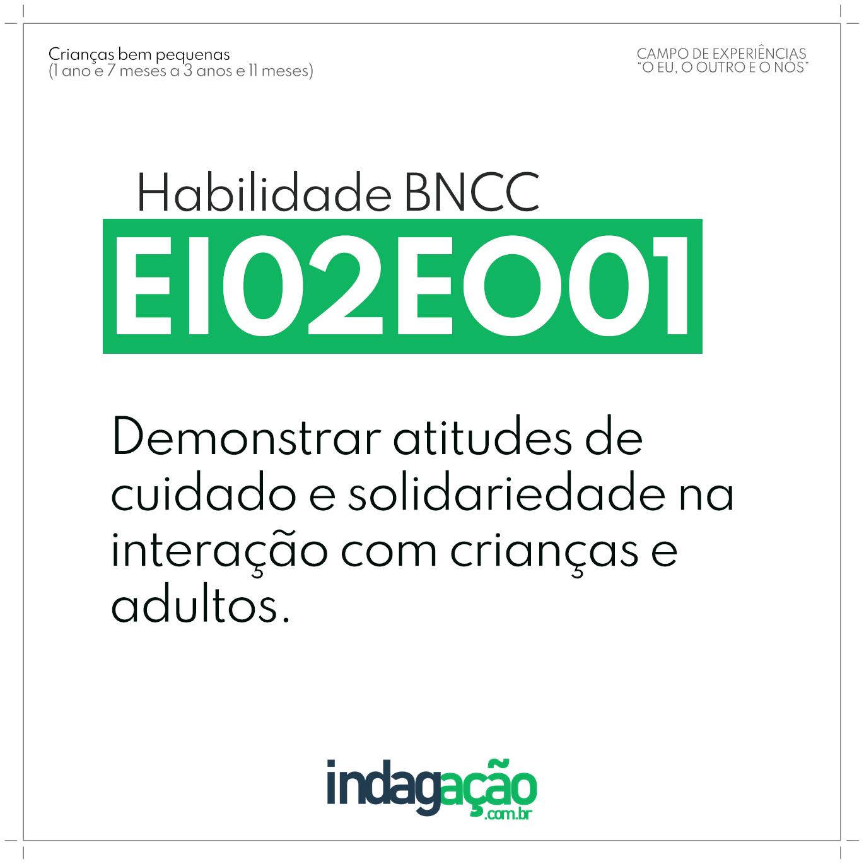 Habilidade EI02EO01 BNCC