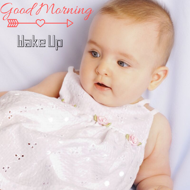 Decent Baby girl  Good Morning Images