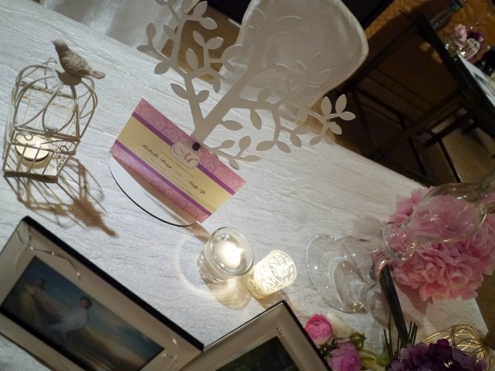 Lily Sarah Floral Studio A Thematic Wedding Four Seasons Hong Kong  Harbourview Ballroom