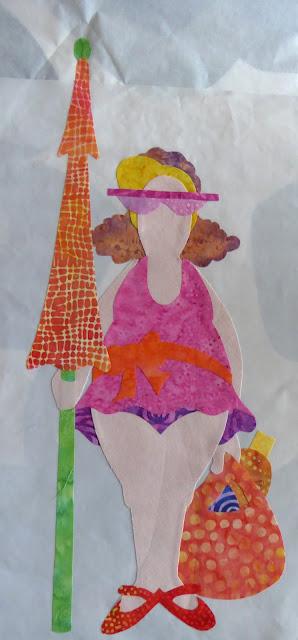 Amy Bradley Designs - skønne damer ved stranden