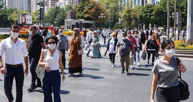 كورونا.. حصيلة جديدة للإصابات والوفيات في تركيا اليوم 28/11/2020