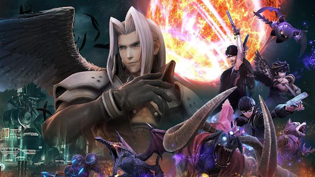 Dark Reunion event online tourney Super Smash Bros. Ultimate Sephiroth