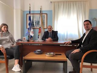 ΣΤΟ δήμαρχο η πρωταθλήτρια Ελλάδας Άννα Γιακουμοπούλου του Α.Σ. ΤΑΕΚΒΟΝΤΟ Κυπαρισσίας