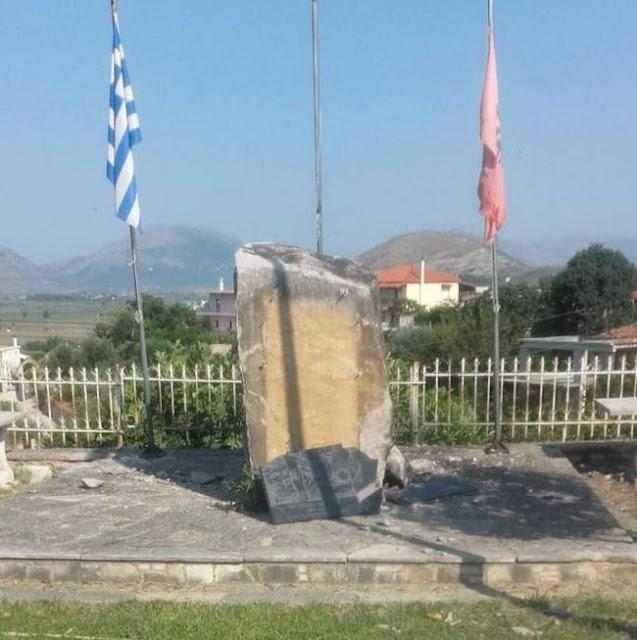 Βόρεια Ήπειρος: Άγνωστοι ανατίναξαν το μνημείο του Θ. Λιώλη