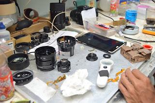 Service Lensa Kamera DSLR - Mirrorless Di Malang