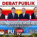 LIVE: Debat Publik Putaran Kedua Calon Bupati Samosir Tahun 2020
