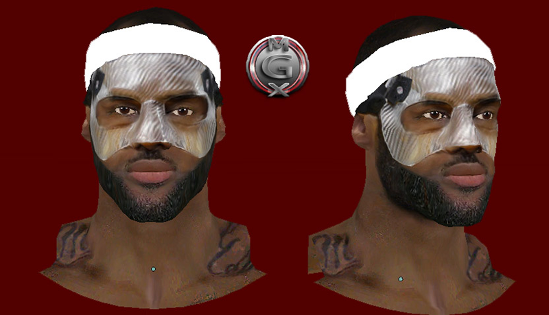 LeBron James Face Clear Mask Patch