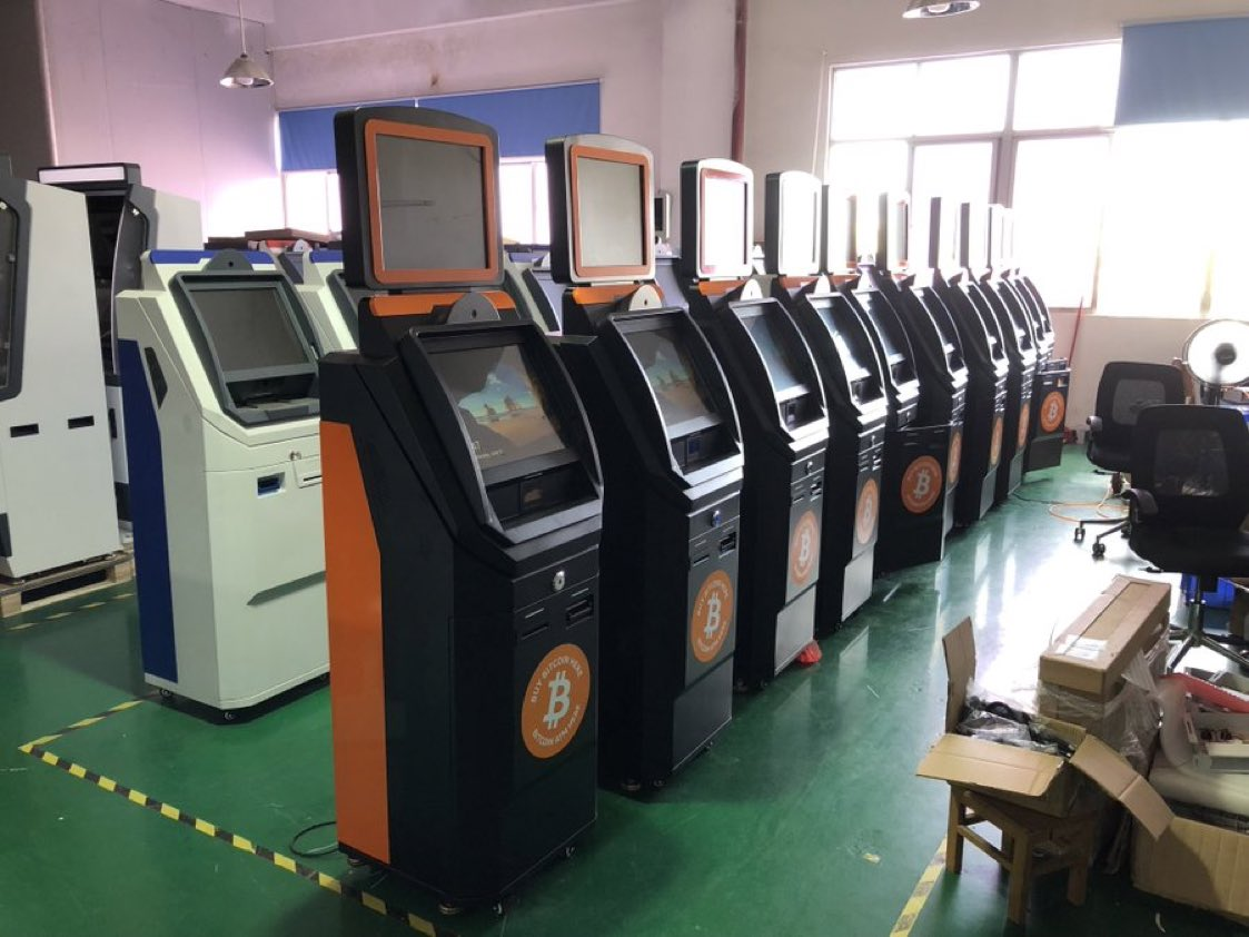 Bitcoin ATMs Are Ready For Shipment To El Salvador
