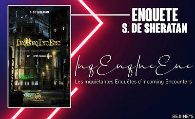 Livre : InqEnqIncEnc - S. de Sheratan