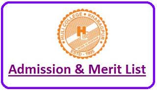 Hijli College Merit List