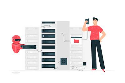 spesifikasi server ilustrasi