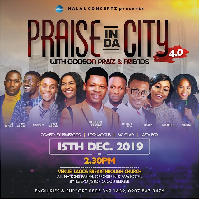 Praise in the city 4.0 with Godson Praiz