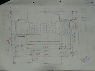 Gambar ukuran lipatan pelat galvalum penghantar Alat Pemanas Elektrik - Krenovaku