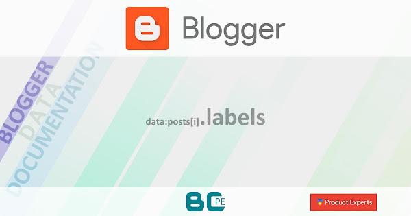 Blogger - Gadgets Blog (V1/V2), FeaturedPost (V2) et PopularPosts (V2) - data:posts[i].labels