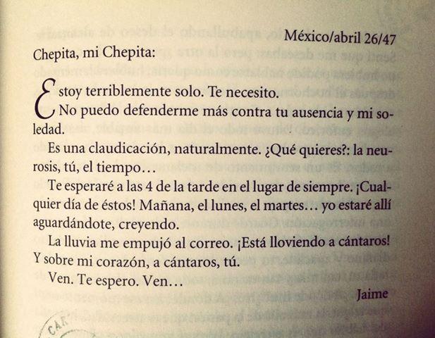 Cartas A Chepita En Imagenes Literatura Y Poesia 2 0