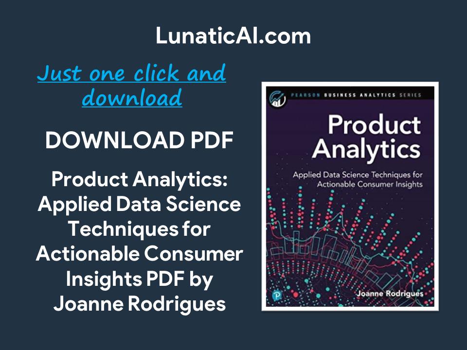 Product Analytics PDF